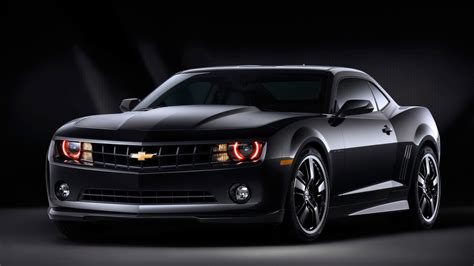 chevrolet camaro black wallpaper 215494