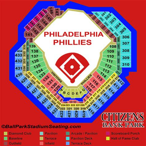 how many seats inerica park citizens bank park seating chart view new map 2016