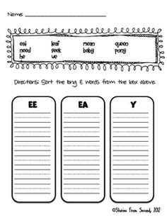 ai spelling pattern worksheets word sorts the heart of word study word study