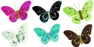 papillons perl 233 s d 233 coration de table mariage