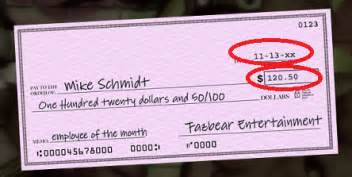 Compared to fnaf 1 where you get this paycheck for a regular work