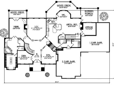 simple 5 bedroom house plans garage 4 bedroom house floor plans 4 car garage house