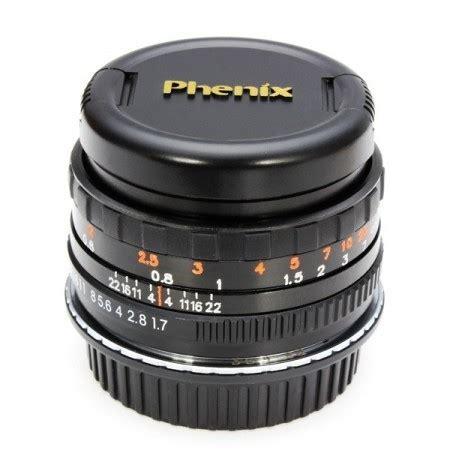 second generation 50mm f1.7 phenix lens for canon ef lens