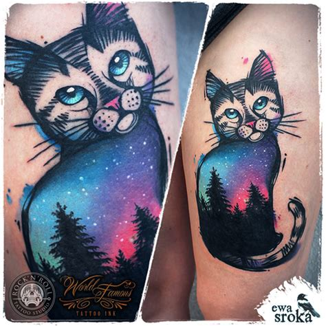 best ink sky sky cat best design ideas