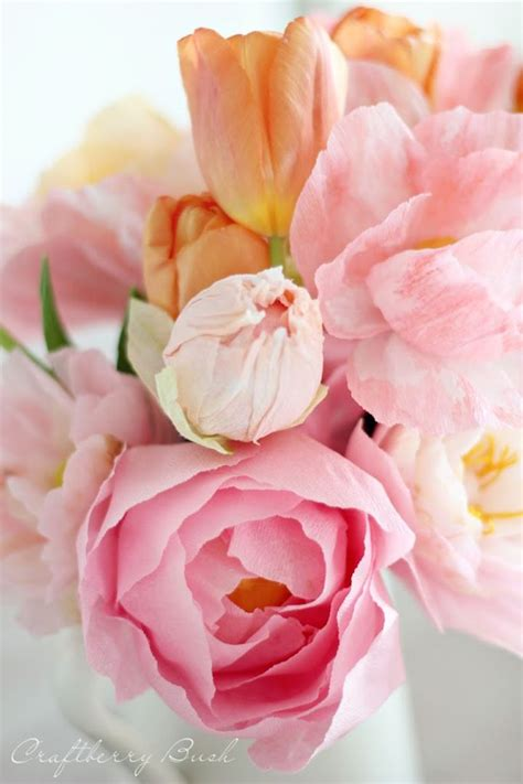 Crepe Paper Flowers - 25 best ideas about crepe paper flowers on