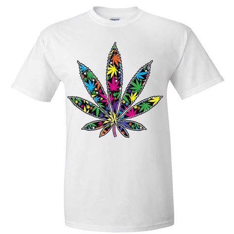 neon color shirts neon pot leaf asst colors t shirt