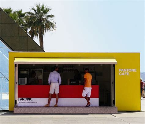 Whos Hungry For Pop Nosh Linkage by Pop Up Pantone Cafe Serves Up Color Coded Snacks In Monaco