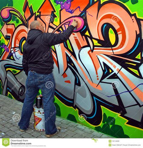 graffiti artist editorial stock image image