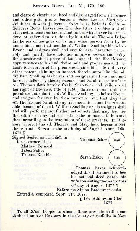 Suffolk County Massachusetts Court Records Colonial Massachusetts