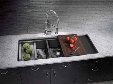 Kitchen Sinks With Drainboard Built In by The Importance Of Kitchen Sink With Drain Board Blogbeen
