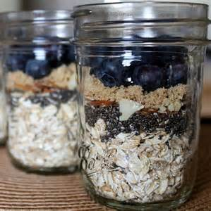 overnight refrigerator oatmeal with berries recipe dishmaps
