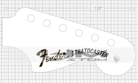 fender bass headstock template fender bass headstock template choice image template