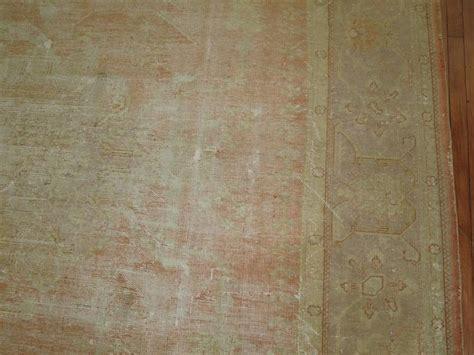 shabby chic carpet shabby chic antique oushak carpet for sale at 1stdibs