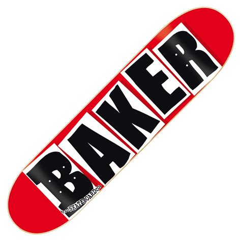 Baker Skateboards collaged words on quot sheets quot of paper branding