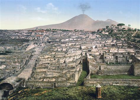 Ancient L by File Pompeji Um 1900 Ueberblick Jpg Wikimedia Commons