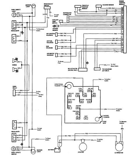 1984 Chevy Corvette Wiring Diagram Automotive Wiring