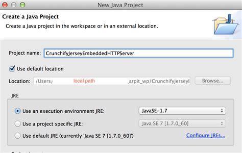 tutorial java jersey embedded web server tutorial how to start embedded http