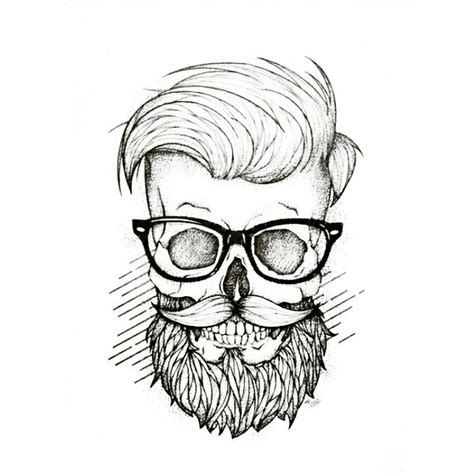 moustache tattoo designs study time ilustraciones and drawings