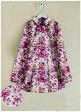 Atasan Bunga Enobi Atasan Wanita Fashion Wanita Blouse Wanita baju atasan wanita fashion lengan panjang motif bunga
