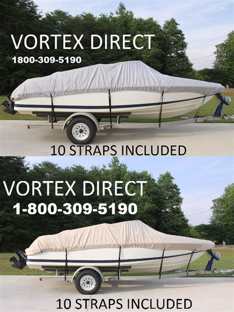vortex boat covers vortex heavy duty cuddy cabin boat cover 18 7 quot to 19 6