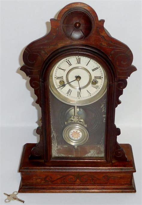Shelf Clocks antique c 1890 waterbury clock co 30 hour shelf clock