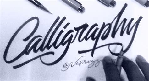 tutorial menulis lettering tutorial dasar belajar kaligrafi dengan brush pen