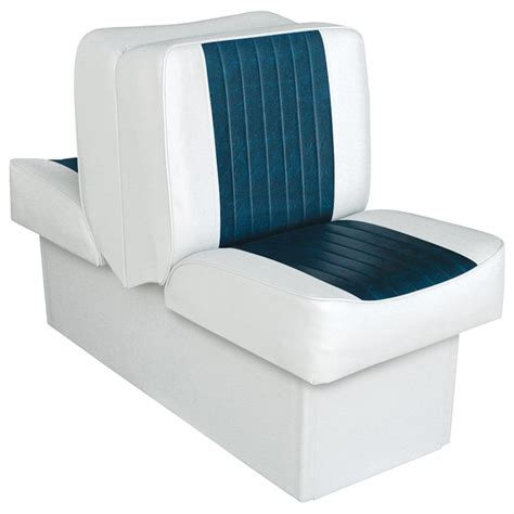 wise deluxe boat seats wise deluxe boat lounge seat 96446 fold down seats at