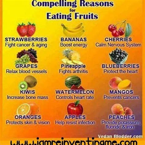 8 Reasons To Eat More Vegetables by Reasons To Eat More Fruit Helpful Hints