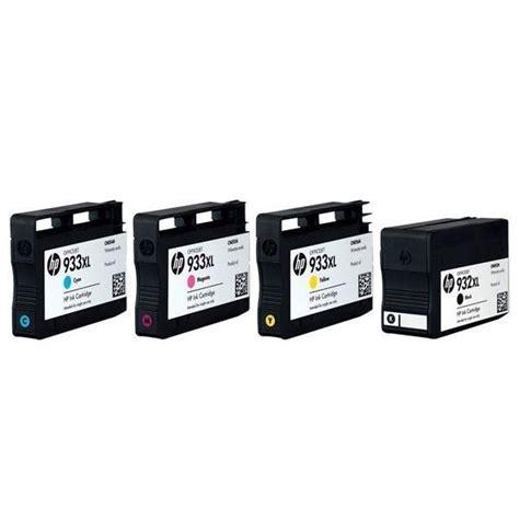 Hp Colour 933xl Ink Cartridge hp 932xl and 933xl black and colour combo ink cartridge