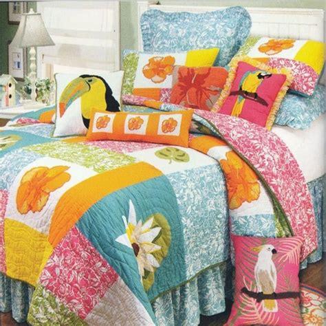 hawaiian pattern comforters kahala hawaiian beach quilt