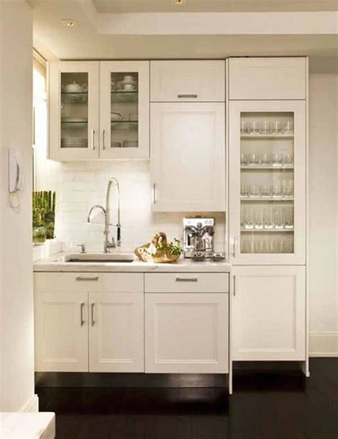 Small Kitchen Design by Small Kitchen Decor White Interior Color Olpos Design