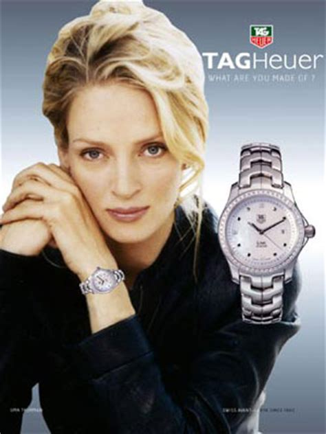 Uma Thurman And Tag Heuer Exclusivity Style And Success uma thurman endorsements
