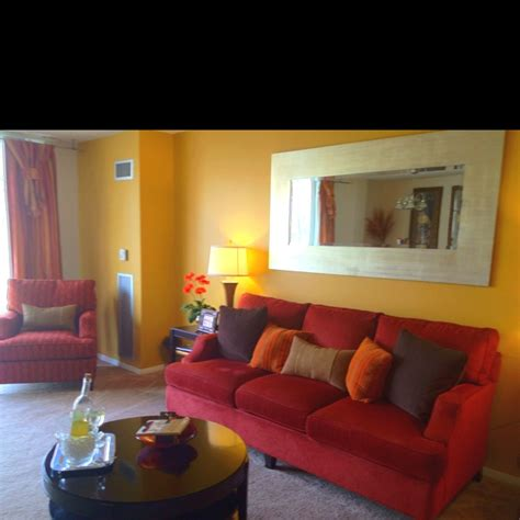 red and yellow living room 17 best images about living room colors on pinterest