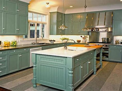 great decorating ideas for kitchen cabinet tops great painted kitchen cabinets brick subway tile