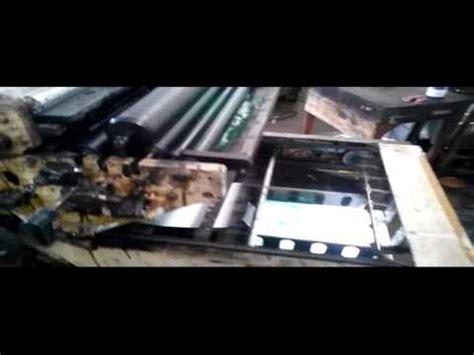 Mesin Percetakan mesin cetak offset hamada 800