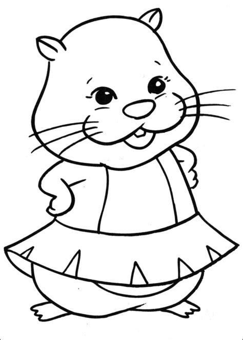 coloring pages zuzu pets zhu zhu pets zu zu kolorowanki czas dzieci