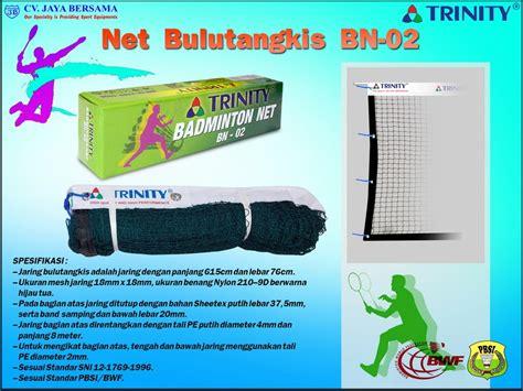 Raket Standar Pbsi net badminton bn 02 jaring bulutangkis agen alat olahraga