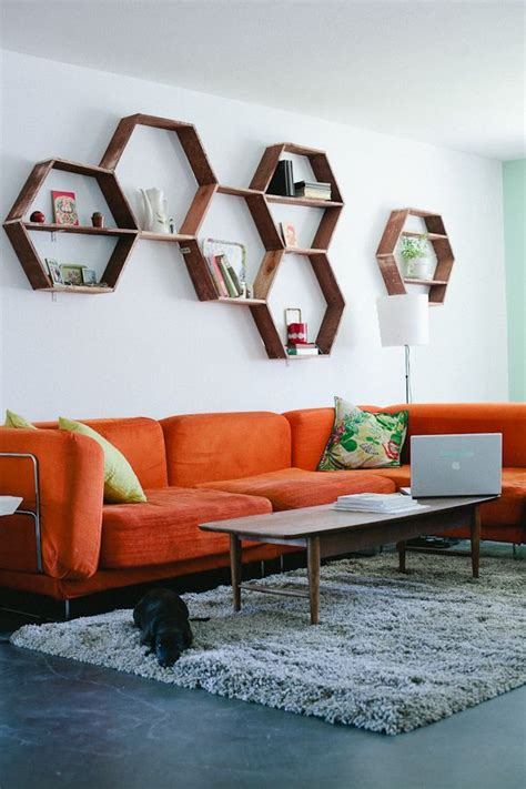 interior design trends  retro living room