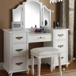 White Vanity Set For Bedroom European Rustic Wood Dresser Bedroom Furniture Mirror
