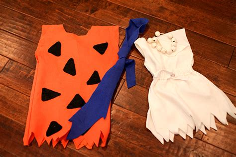 pebbles flintstone costume diy fred and wilma flintstone costume diy