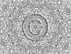 printable intricate free coloring pages art coloring pages