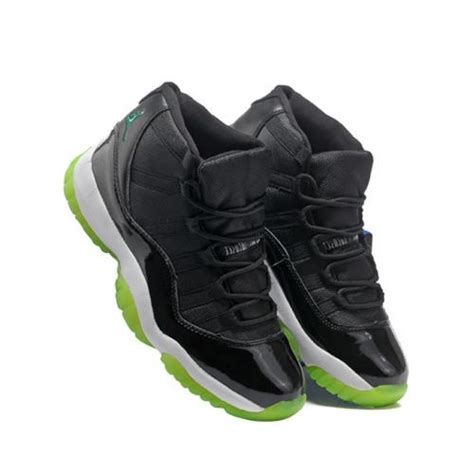 sneakers for sale jordans air 11 cool high black white green retro