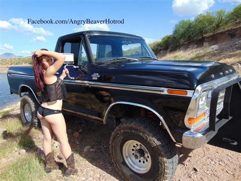 79 ford truck 79 ford f 150 4x4 angry beaver hotrod and custom cycle