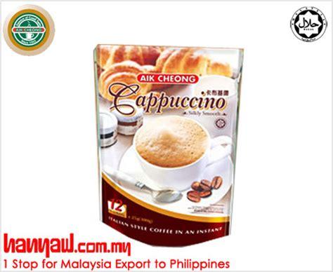 Murah Aik Cheong Chocolate aik cheong cappuccino hanyaw malaysia 1 stop exporter to philippines