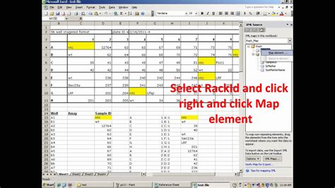 excel 2010 xml mapping tutorial how to map excel sheet to xml in ms excel