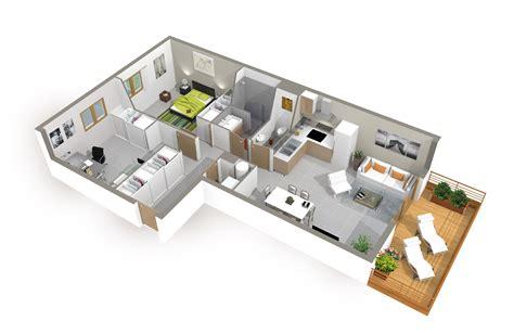 Plan De Maison Moderne 3d by Plan De Maison 3d Onetosix