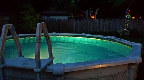 installing pool lights existing pool aqualuminator above ground pool light the pool factory
