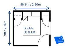 Minimum Size For Single Bedroom by This 9ft X 9ft 6in 2 74 X 2 9m Bedroom Is The Minimum