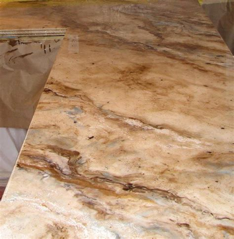 Painting Countertops To Look Like Marble by Best 25 Epoxy Countertop Ideas On Diy Epoxy Resin Kitchen Countertop Cherry Wood
