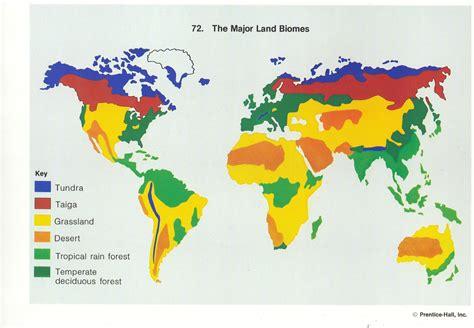 world biomes map   biome utlr dnews